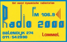 Radio 2000 Lommel FM 106.9