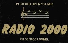 Radio 2000 Lommel FM 103