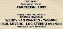 Radio Aktief, 1992