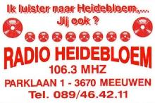 Radio Heidebloem FM 106.3