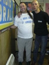Rudy Gybels en Ron van Praag (zondag 4 juli 2004)