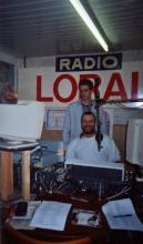 Davy Vrancken en Rudy Gybels, zondag 4 Mei 2003