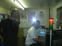 Ron van Praag en Rudy Gybels (zondag 25 april 2004)