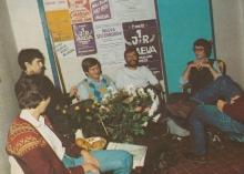 Enkele DJ's, 1982