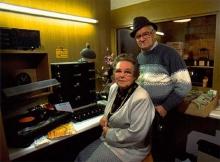 De eigenaars in de live studio, 1995