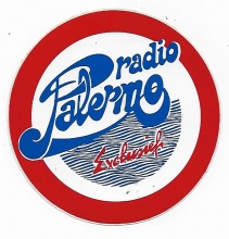 Radio Palermo sticker