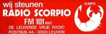 Radio Scorpio Leuven FM 101