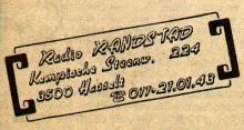 Radio Randstad Hasselt, adres