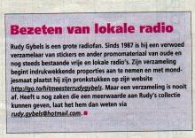 Artikel: Bezeten door Lokale Radio