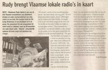 Artikel: Rudy Gybels brengt Vlaamse lokale radio's in kaart