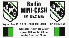 Radio Mini-Cash Opglabbeek FM 102.2