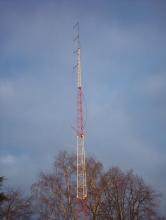 De antennemast, februari 2005