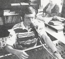 Willy Luyten tijdens zijn programma (1998)