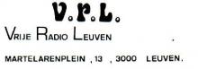 Radio VRL Leuven, adres
