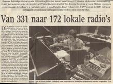 Artikel: Van 331 naar 172 lokale radio's