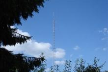 Radio Veronieka Deinze, de antennemast