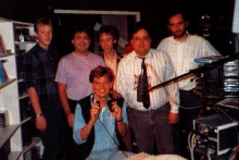 Radio X-tra FM, team in 1989