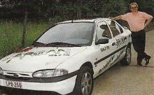 Promotiewagen Radio Arcan, 1992