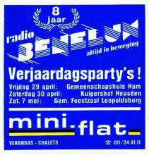 Radio Benelux, 8 jaar