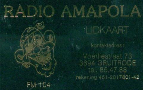 Radio Amapola Gruitrode