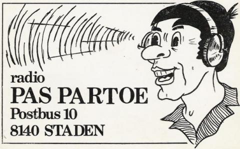 Radio Pas Partoe Staden