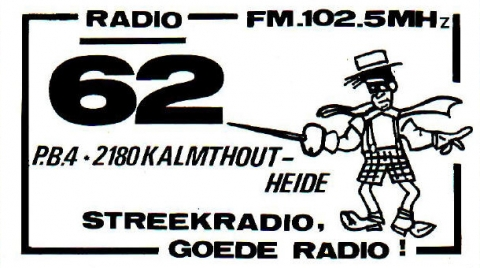 Radio 62 Kalmthout