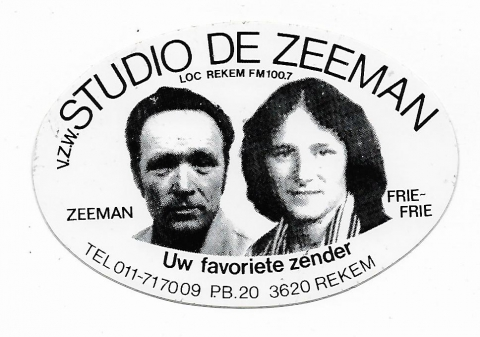 Radio Studio De Zeeman Rekem FM 100.7