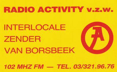 Radio Activity Borsbeek