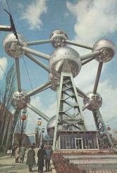 Postkaart Brussel atomium