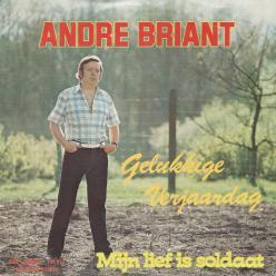 Andre Briant gelukkige verjaardag