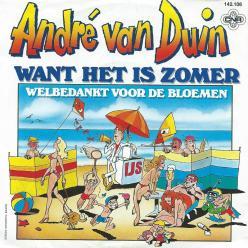 André Van Duin want het is zomer