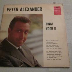 Peter Alexander zingt voor U